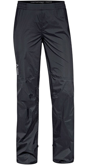 VAUDE W's Spray Pants III Black